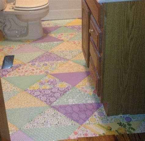 decoupage concrete floor 7 best decoupage floor covering images on