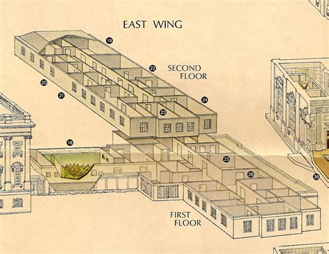 white house floor plans east wing