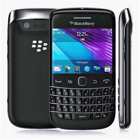 Handphone Blackberry Onix 1 3d copy blackberry bold 9790
