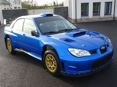 subaru impreza wrc for sale subaru impreza wrc driven by petter solberg and colin