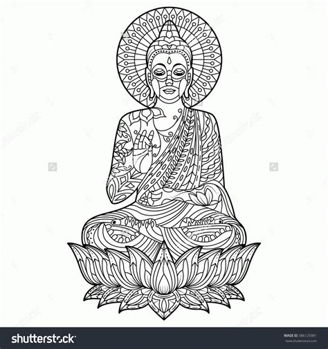 coloring pages of buddha az coloring pages