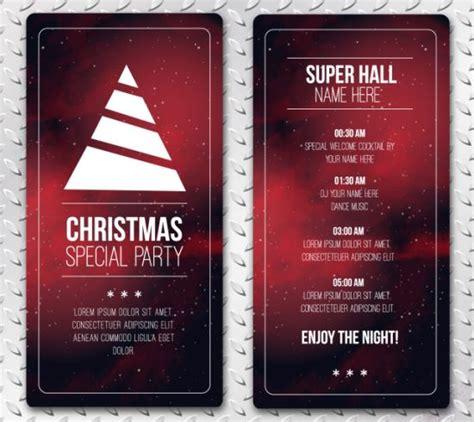 flyer design freepik 30 free christmas vector graphics party flyer templates
