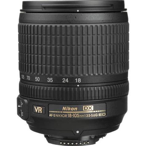 Lensa Nikkor 18 105mm Vr nikon af s dx nikkor 18 105mm f 3 5 5 6g ed vr