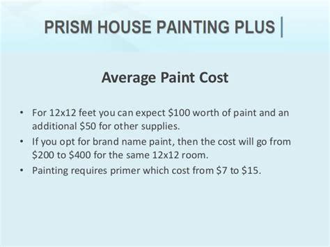 how much does it cost to paint a house interior