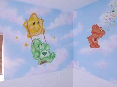 Care Bears Nursery Decor Room Decor On Tulle Poms Lights And Rooms