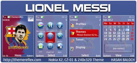 nokia x2 ronaldo themes lionel messi theme for nokia x2 c2 01 240 215 320 themereflex