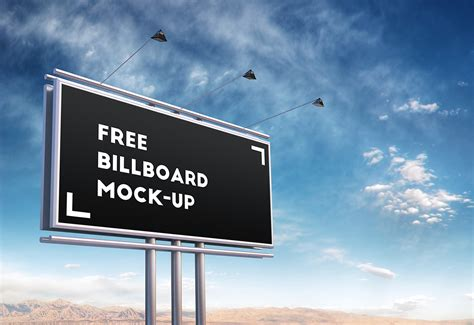 Free Up by Free Psd Billboard Mock Up On Behance