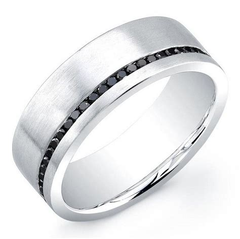Cincin Pesta Kawin Tunangan Black Ring Titanium Wedding 17 best images about anillos de compromiso masculino on titanium rings wedding ring