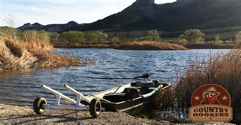 small bass boat with wheels jon boat dolly diy boat cart for launching lightweight boats
