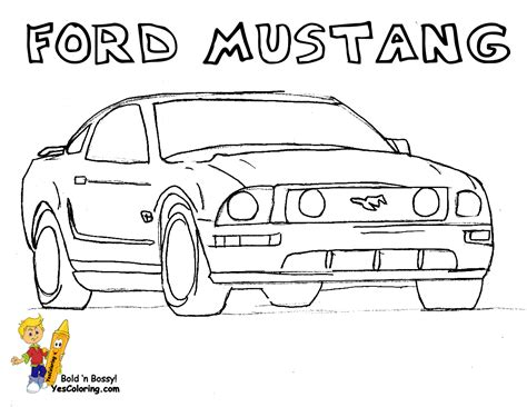 Easy Coloring Cars Coloring Pages Simple Car Coloring Pages
