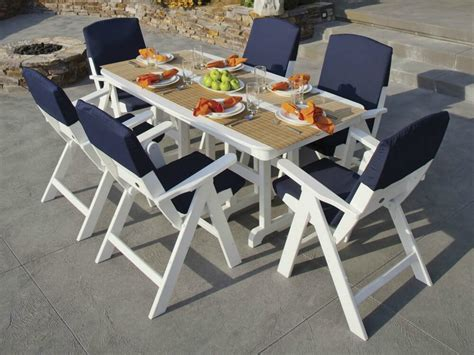 White Patio Dining Table And Chairs 25 Patio Dining Sets For Regarding White Table And Chairs Outdoor Set Gccourt
