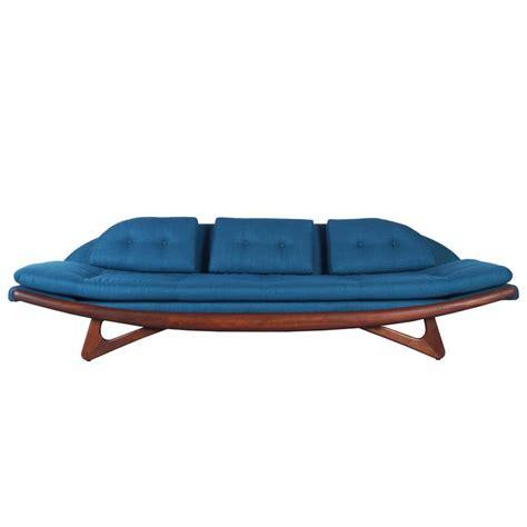 adrian pearsall quot gondola quot sofa for craft associates at 1stdibs