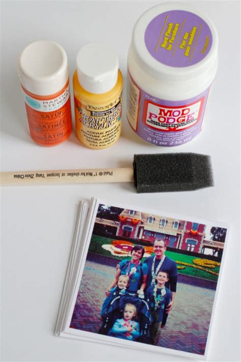 Decoupage Supplies - make a photo box for s day make and takes
