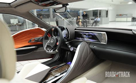 Photos Lexus Lf Lc Concept Interior