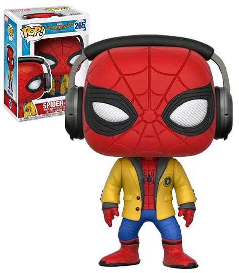 Funko Pop Marvel Spider Homecoming funko pop marvel spider homecoming 265 spider