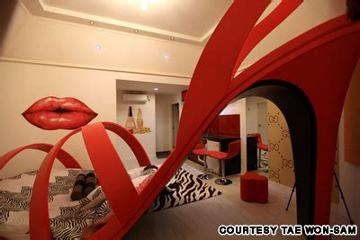 theme hotel korea comical creepy or kind of cool a night in the