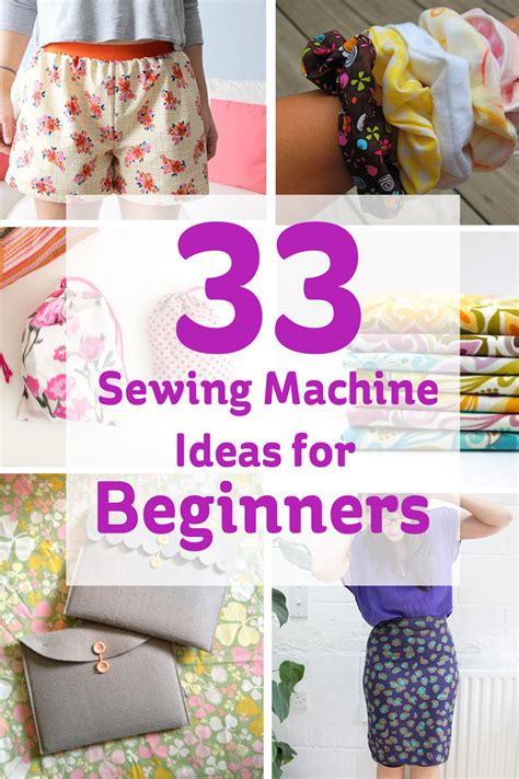 craft projects for beginners 33 sewing machine ideas for beginners hobbycraft