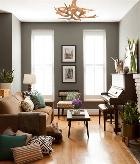 gray walls brown couch 1000 images about new house on pinterest