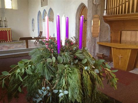 advent wreath holy trinity dunoon
