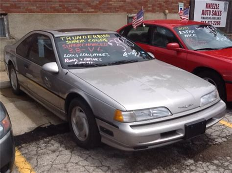 automotive air conditioning repair 1990 ford thunderbird parental controls 1990 ford thunderbird for sale carsforsale com