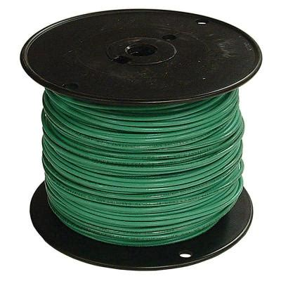 southwire 500 ft 2 green stranded cu thhn wire 29583201
