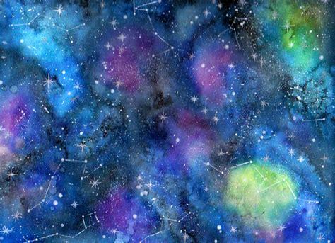 la galaxy colors mi proyecto t 233 cnicas modernas de acuarela galaxia