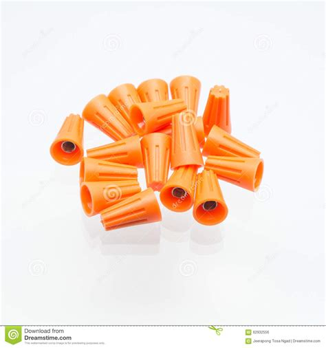 white wire nuts wire nuts are isolated stock photo image 62932556