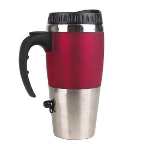 Excalibur Travel Mug with USB Charger Keeps Your Drinks Hot in the Office or on the Go  Craziest