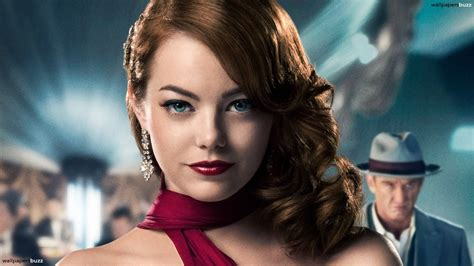 download hair the movie women actress emma stone gangster squad movie wallpaper