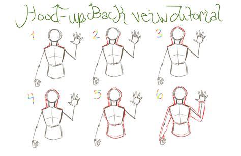 hoodie design drawings hood up backview hoodie tutorial by reigodric on deviantart