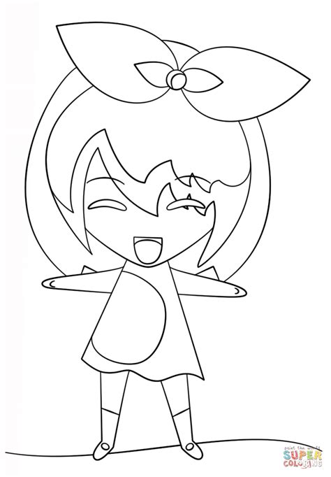 kawaii girl coloring pages kawaii girl coloring page free printable coloring pages