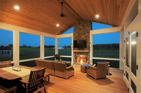 fireplace on screened porch how much does it cost to build a fireplace in a screened