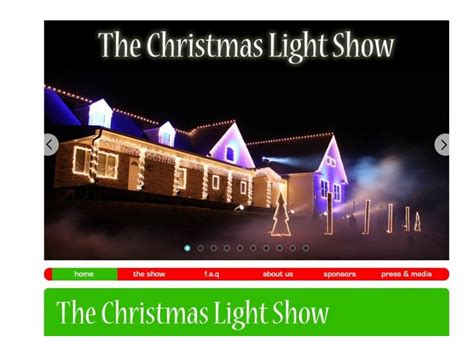 spectacular christmas light show tonight tomorrow