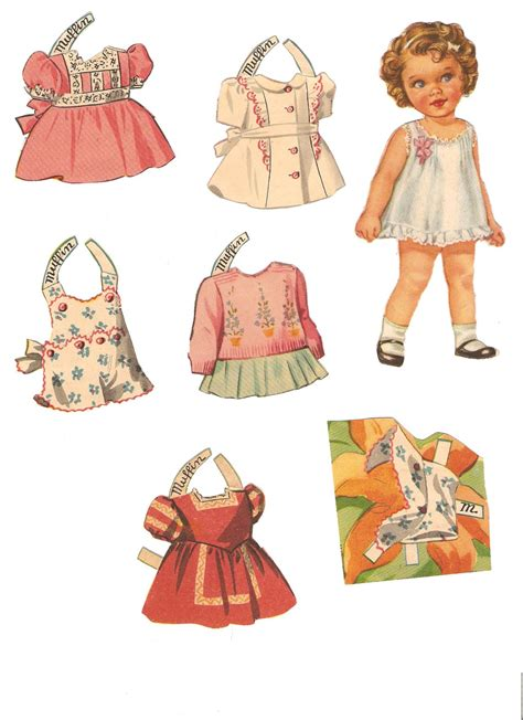 Paper Doll For - miss paper dolls baby mine