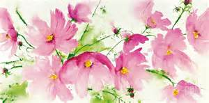 Bright pink flowers that will bring cheer any room art com 60