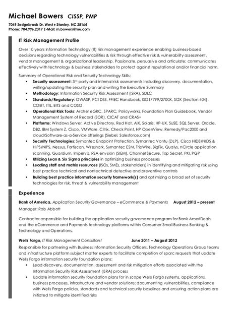 risk management resume printable planner template