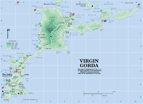 map of bvi and usvi gorda images newhairstylesformen2014