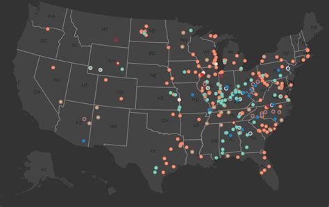map of hazardous waste sites coal ash contaminated sites hazard dams earthjustice