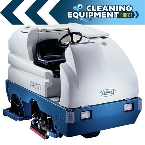 Tennant Scrubbers T7 With Ech2o used tennant floor scrubbers and sweepers for sale