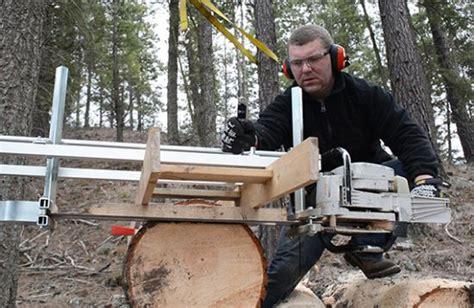 alaskan chainsaw mill mother earth news