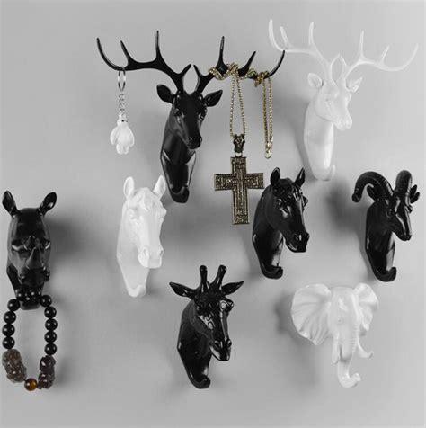 set of 3 fancy coat aliexpress buy creative deer animal decorative hook coat hook retro clothes hanging