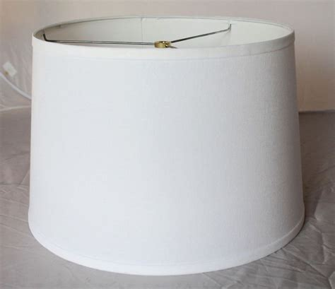 White Barrel L Shade by White Drum L Shade Better Ls