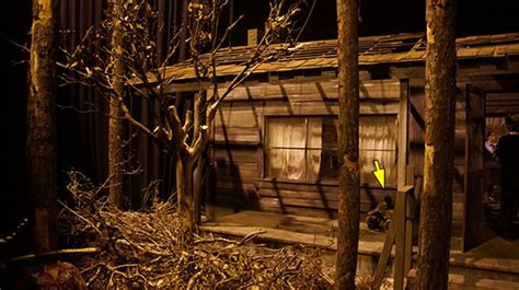 Haunted Cabins by Horror Nights Lights On Tour The Cabin In The