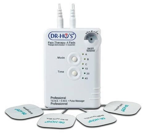 dr ho pain therapy system  pad tens device dr hos