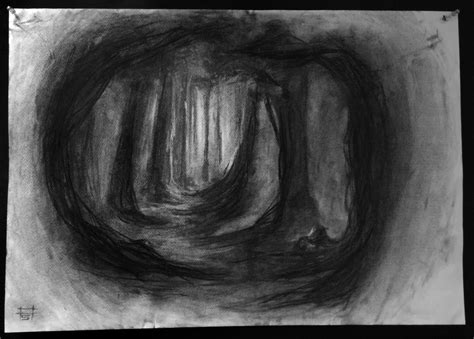 Drawing With Charcoal by Charcoal Drawings Amit Sadik