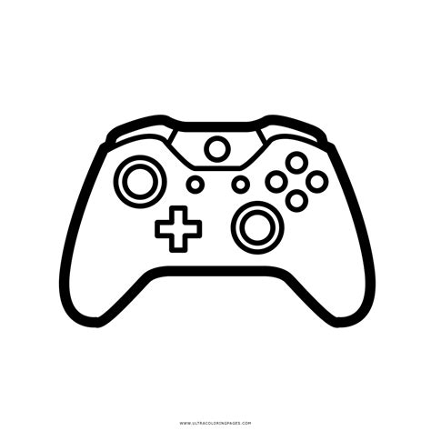 imagenes para colorear videojuegos dibujo de controlador de videojuegos para colorear ultra