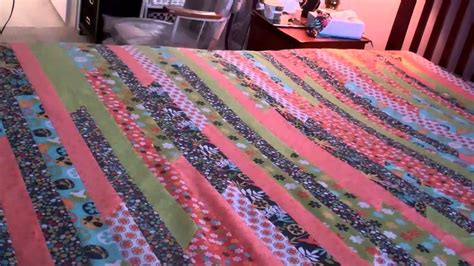 How Many Jelly Rolls For A King Size Quilt by King Jelly Roll Quilt Part 5 Finishing The Top