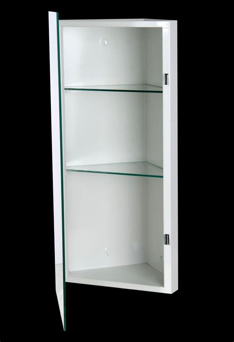 Mirrored Corner Bathroom Cabinet | ketcham cmc 1436 k 14 x 36 corner mount mirrored bathroom
