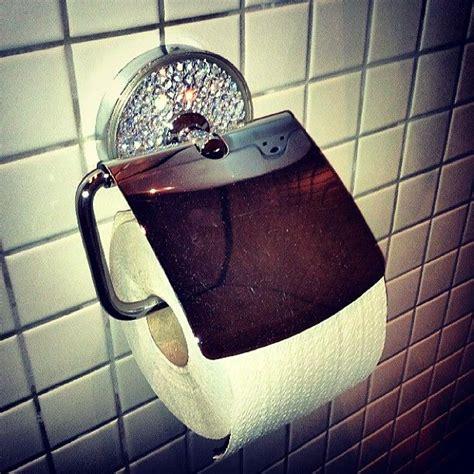Dispenser Beling rhinestone toilet paper holder