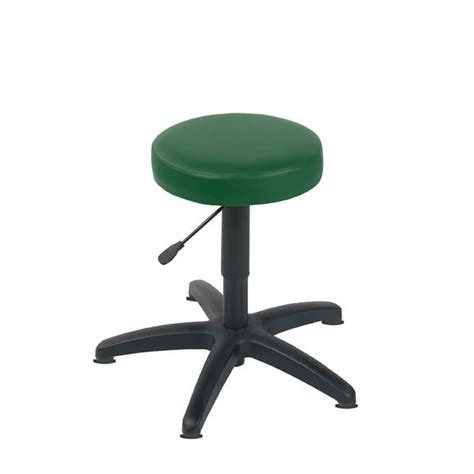 Green Stool And Gas by Sunflower Green Gas Lift Stool With Glides